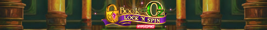 New game: Book of Oz – Lock 'n Spin