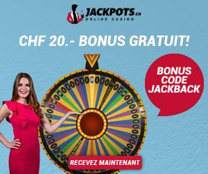www.JackPots.ch - Le bonus est très chaud !