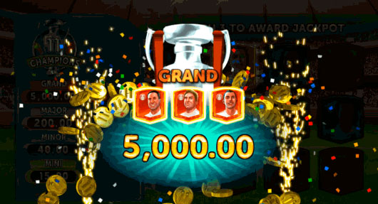 This month's special promotion at Grand Mondial Casino