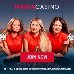 www.MariaCasino.com - Turnee de cazinou și bingo