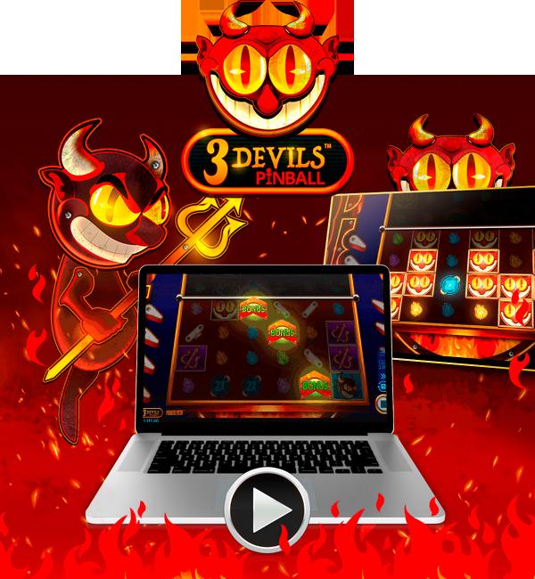 Нова игра: 3 ѓаволи Pinball