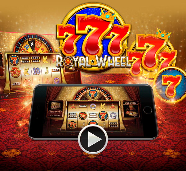 New game: 777 Royal Wheel