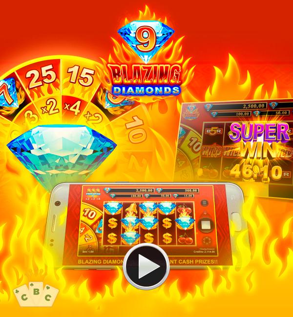 Нова игра: 9 Blazing Diamonds