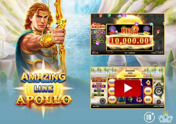 La promotion spéciale de ce mois à Grand Mondial Casino - Amazing Link™ : Apollo