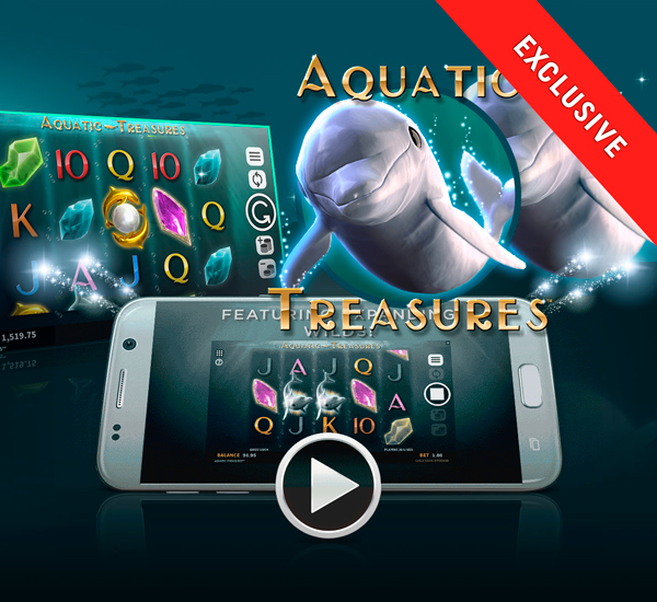 Nuwe spel: Aquatic Treasures™