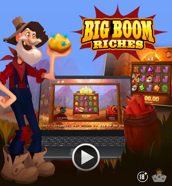 Nouveau jeu : Big Boom Riches