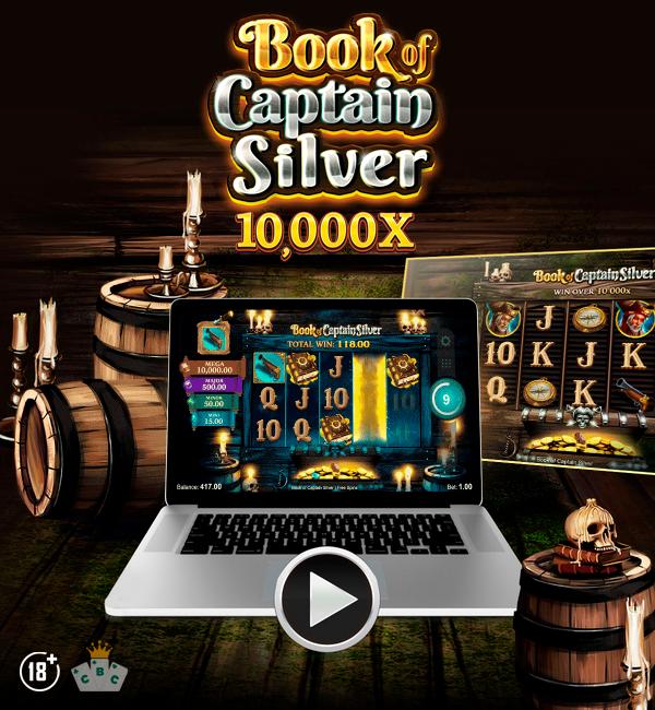 Nuwe speletjie: Book of Captain Silver