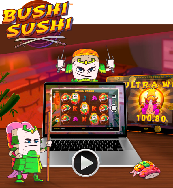 New game: Bushi Sushi™