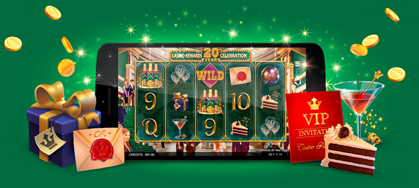 Permainan baru: Casino Rewards 20 Year Celebration™