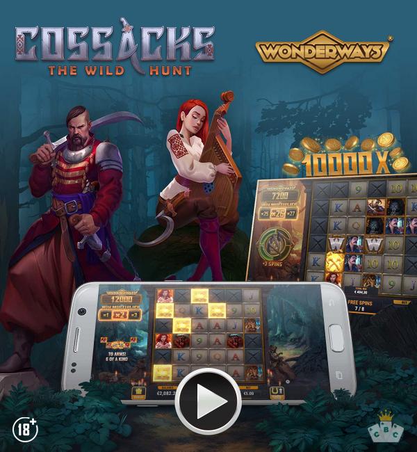 Nouveau jeu : Cossacks : The Wild Hunt