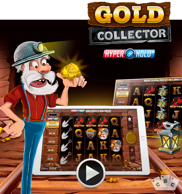 لعبة جديدة: Gold Collector HyperHold ™