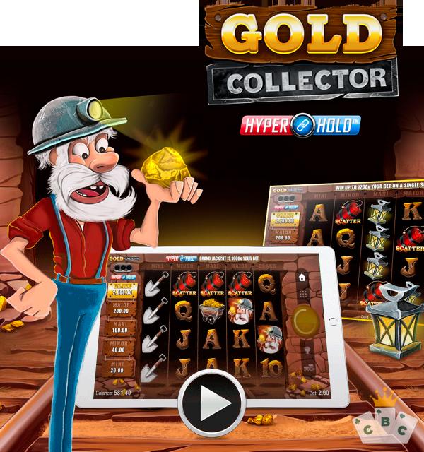 Nuwe speletjie: Gold Collector HyperHold ™