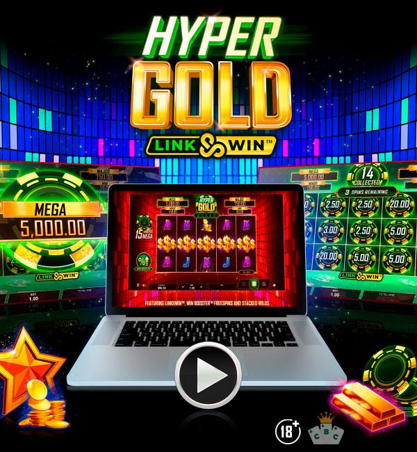 Нова игра: Hyper Gold ™ Link & Win