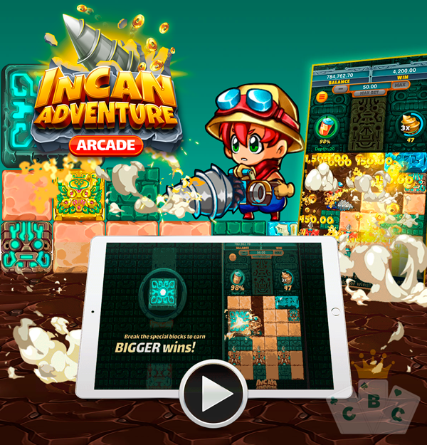 New game: Incan Adventure