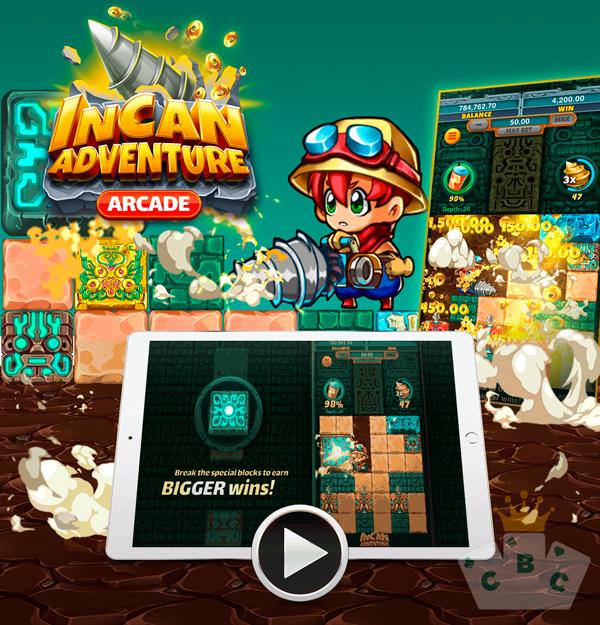 Nová hra: Incan Adventure