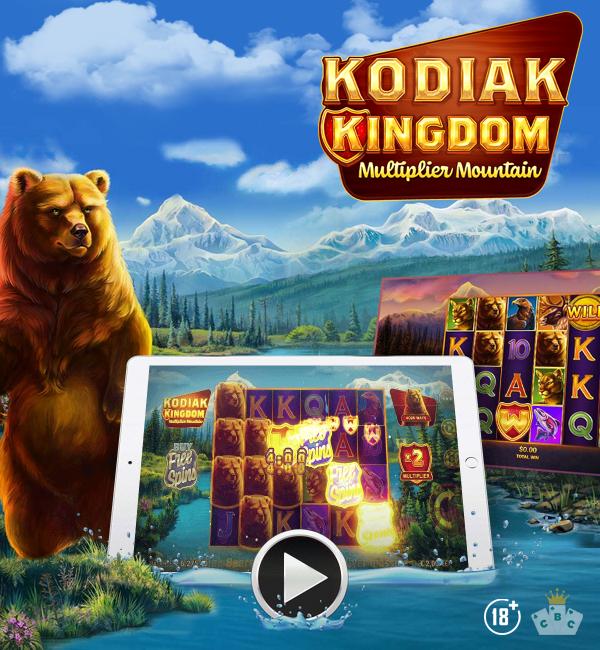 Νέο παιχνίδι: Kodiak Kingdom Multiplier Mountain