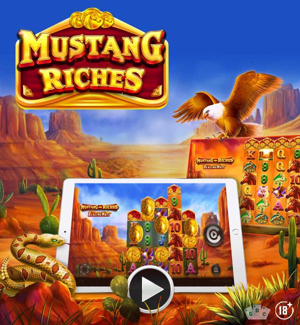 משחק חדש: מוסטנג ריצ'רס