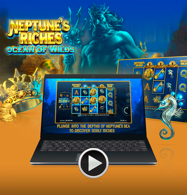 New game: Neptune's Riches