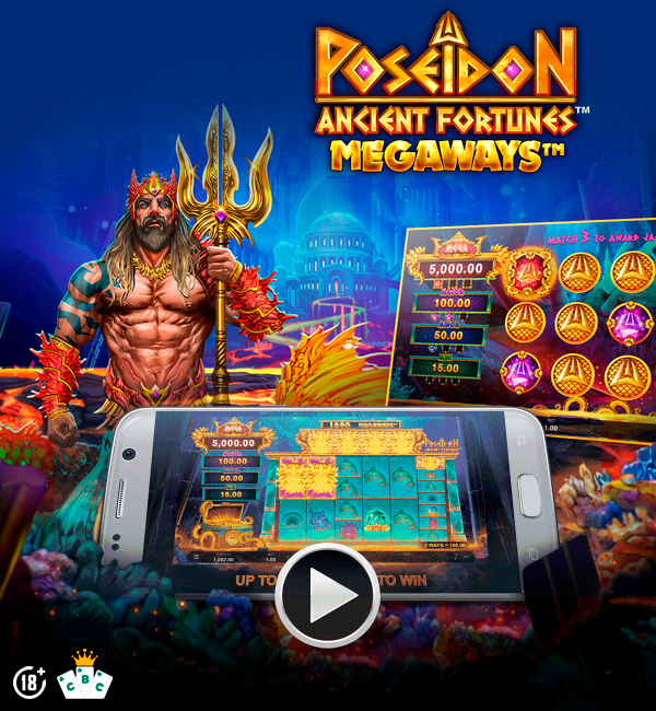 لعبة جديدة: Ancient Fortunes: Poseidon Megaways ™