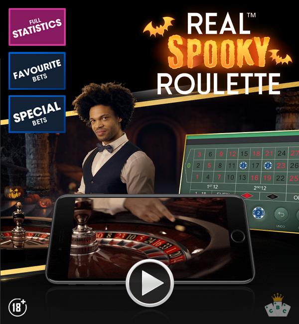 Νέο παιχνίδι: Real™ Spooky Roulette