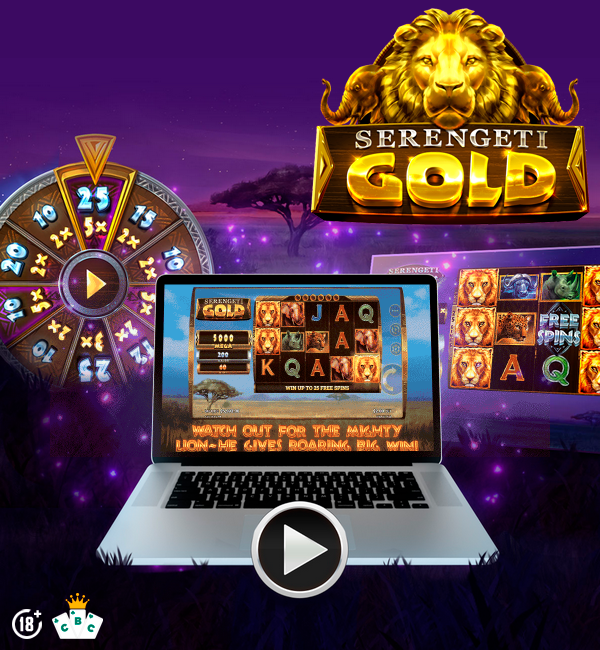 New game: Serengeti Gold