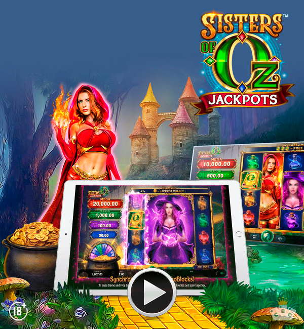 Nuwe speletjie: Sisters of Oz boerpotte