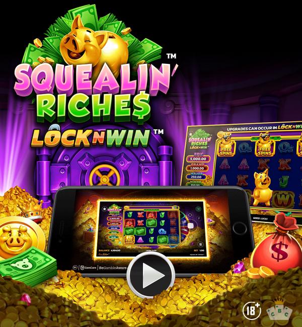 Nouveau jeu : Squealin' Riches™