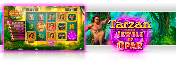 Nýr leikur: Tarzan® and the Jewels of Opar ™