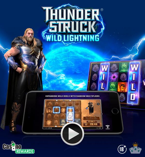 Neues Spiel: Thunderstruck Wild Lightning