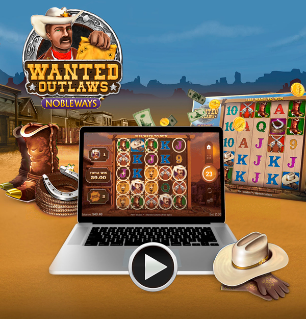 Нова игра: Wanted Outlaws