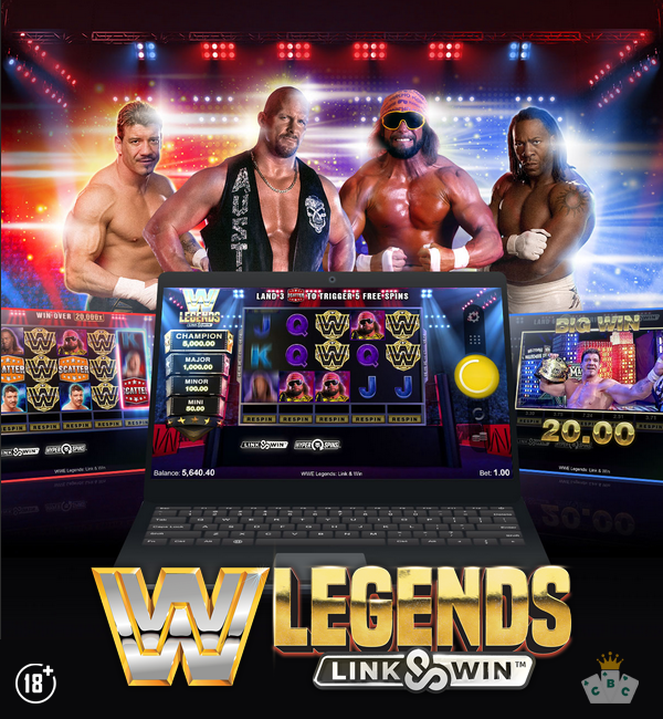 משחק חדש: WWE Legends: Link & Win ™