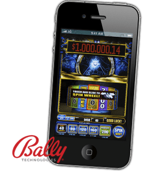 Golden Faraoh นำเสนอโดย Bally Technologies