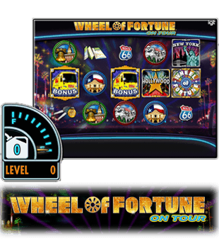 Wheel of Fortune on Tour kom til þín af IGT