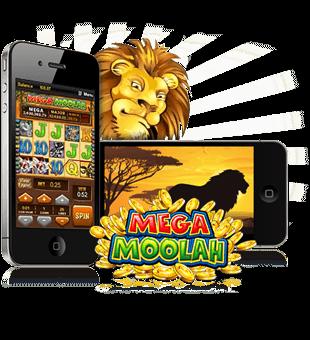 Mega Moolah a thabhairt duit ag Microgaming