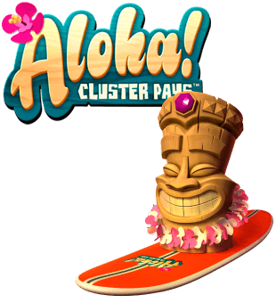 Aloha: Cluster Pays brought to you by NetEnt