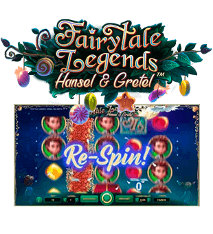 Fairytale Legends: Hansel & Gretel brought to you by NetEnt