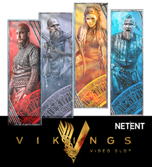 Vikings apportés à vous par Net Entertainment