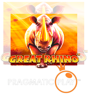 Grand rhinocéros apporté par Pragmatic Play
