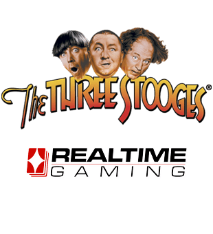 The Three Stooges brought to you by Realtime Gaming